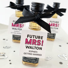 Load image into Gallery viewer, Future Mrs Bridal Shower Bottle Tags