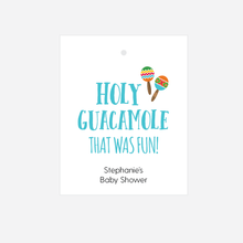 Load image into Gallery viewer, Holy Guacamole Baby Shower Favor Tags