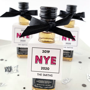 New Years Eve Party Favor Tags