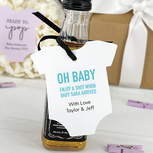 Oh Baby Onesie Gift Tags