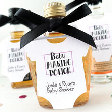 Load image into Gallery viewer, baby-shower-tags-onesie-bottle-tags