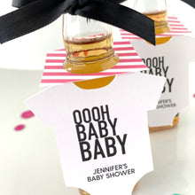 Load image into Gallery viewer, oooh baby baby mini bottle tags