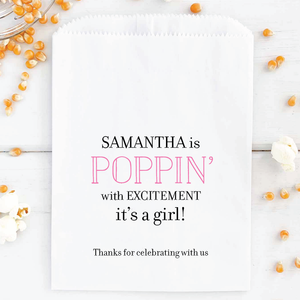 Popping With Excitement Favor Bags