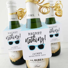 Load image into Gallery viewer, Regret Nothing Bachelorette Party Bottle Tags