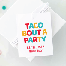 Load image into Gallery viewer, taco bout a party birthday favors fiesta party