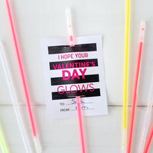 Load image into Gallery viewer, Valentines Glow Sticks