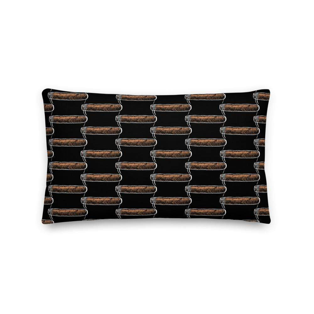 cigar pillows 20×12 Cigar Lounge Pillow (v1)
