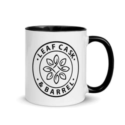 lcb coffee mugs Black LCB Coffee Mug Colored Handle 11oz (v1)