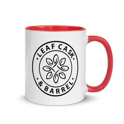 lcb coffee mugs Red LCB Coffee Mug Colored Handle 11oz (v1)