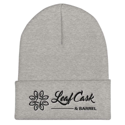 lcb hats Heather Grey LCB - Cuffed Beanie (Light)