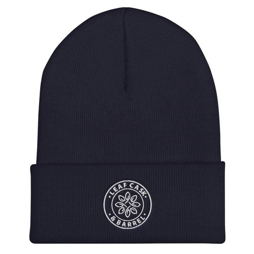lcb hats Navy LCB Icon - Cuffed Beanie (Dark)