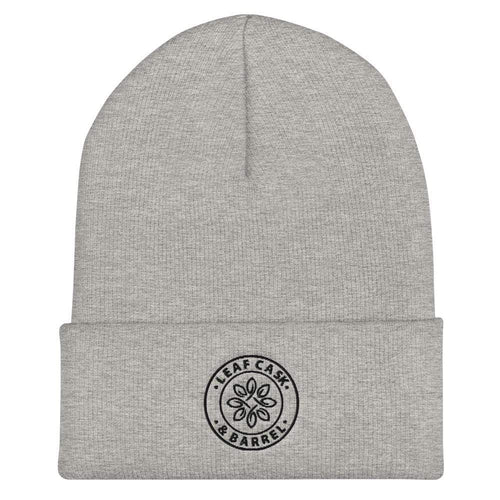 lcb hats Heather Grey LCB Icon - Cuffed Beanie (Light)