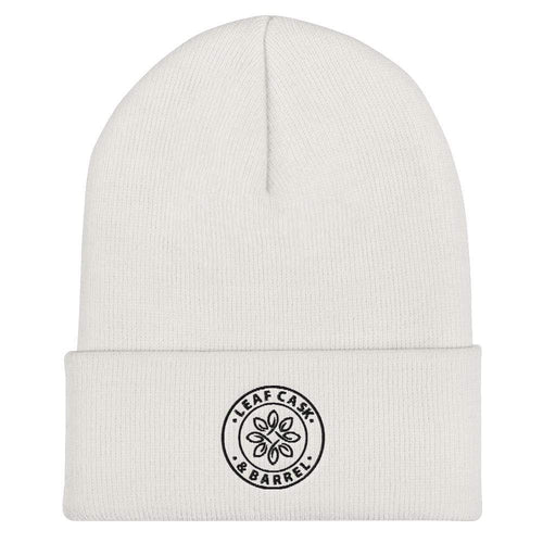 lcb hats White LCB Icon - Cuffed Beanie (Light)