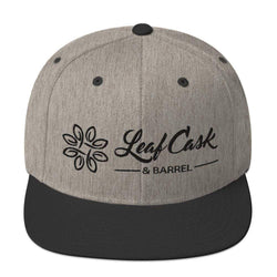 lcb hats Heather/Black LCB - Snapback Hat (Light)