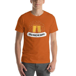 mens beer tshirts Autumn / S IPAs Make Me Happy (v2)