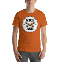 mens cigar tshirts Autumn / S Nice Ash (v1)