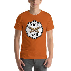 mens cigar tshirts Autumn / S Nice Ash (v2)