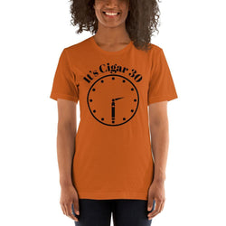 "womens cigar tshirts Autumn / S It's Cigar ""30"" - Clock (v2)"