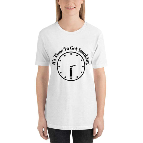 "womens cigar tshirts White / XS It's Cigar ""30"" - Clock (v3)"