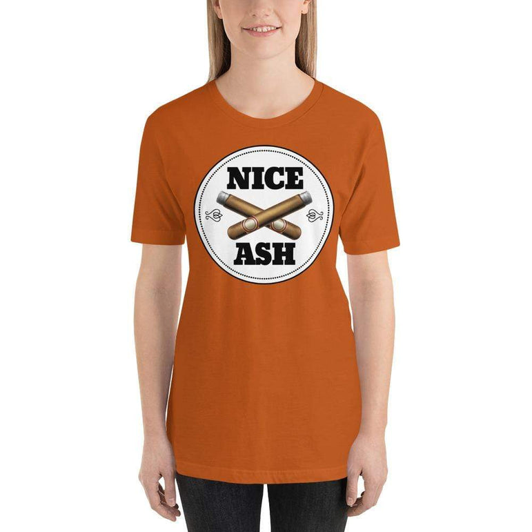 womens cigar tshirts Autumn / S Nice Ash (v1)