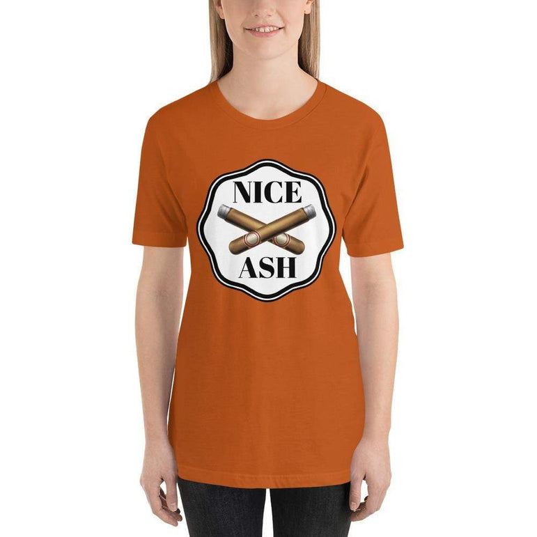 womens cigar tshirts Autumn / S Nice Ash (v2)