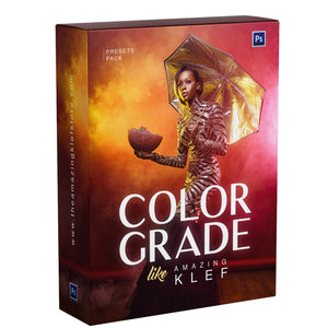 Color Grade like Amazing Klef : Presets Pack