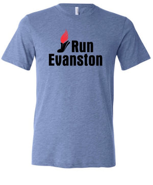 Run Evanston T-Shirt (unisex and ladies)