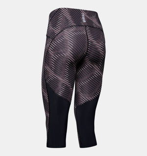 Women's Under Armour Fly Fast Print Speed Capri
