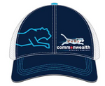Commonwealth Running Company- Chicago Flag Logo Trucker Hat 2021