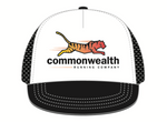 Commonwealth Running Co. Trucker Hat  - White