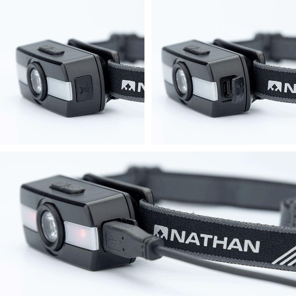 Nathan Neutron Fire RX Runner's Headlamp