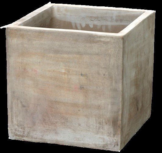 Terracotta (mterra) pot - Small rectangular shape 13cm  x 11cm