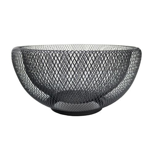 Iron Mesh Bowl - 29cm Black