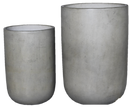 Large Light Cement Pot (Tall Style)