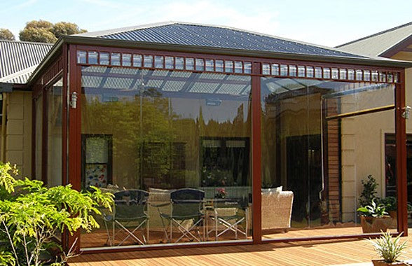 Outdoor Louvre Pergola Blinds - custom quoted