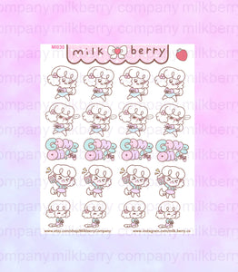 Game ON! Gaming Kawaii Planner Stickers