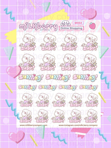Online Shopping! Ninja Fingers Spending buying Kawaii Planner Stickers