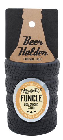 Funcle Tyre Stubby Cooler