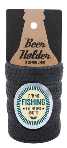 Fishing Tyre Stubby Cooler