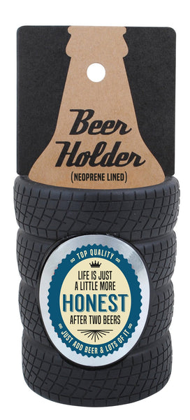 Honest Tyre Stubby Cooler