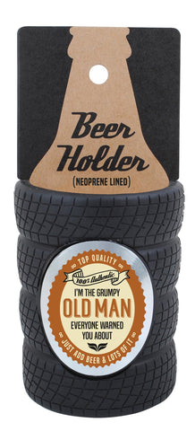 Old Man Tyre Stubby Cooler