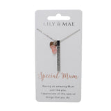 Special Mum - Personalised Necklace