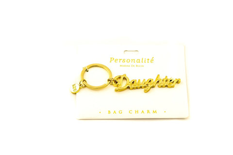 Bag Charm Keyring  - Daughter