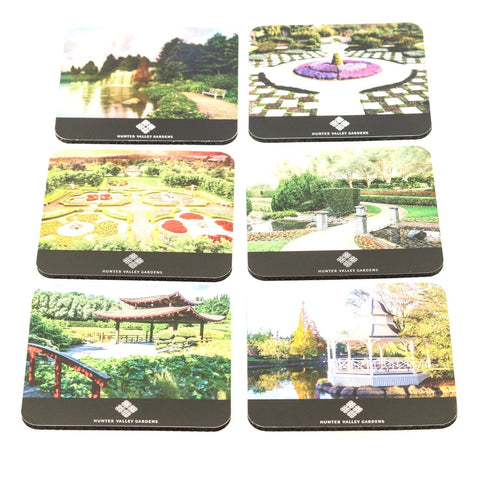 Set of 6 Hunter Valley Gardens Coasters