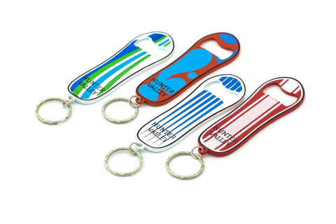 Hunter Valley Snowboard Bottle Opener Keyring