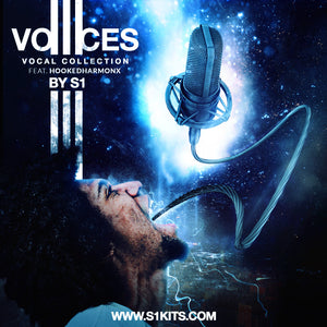 Voices III Vocal Collection by S1 feat. HookedHarmonX