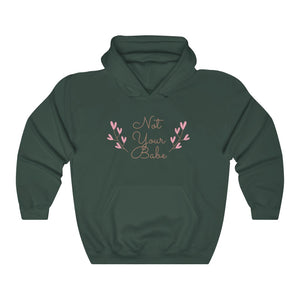 Not Your Babe Hooded Sweatshirt