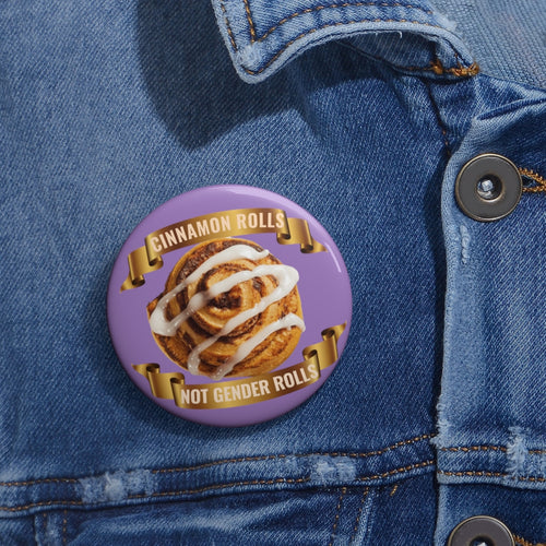 Cinnamon Rolls Pin Buttons
