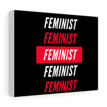 Load image into Gallery viewer, Feminist Wall Canvas