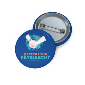 Save The World Pin Buttons